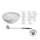 David Wondrich 1 Gallone Bowle Set
